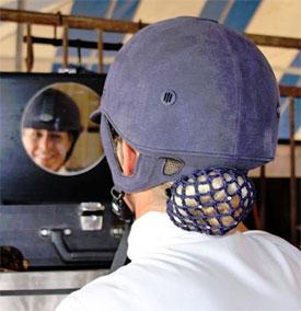 Pro dressage rider starts helmet-wearing campaign