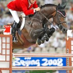 Eric Lamaze and Hickstead at the 2008 Olympic Games.