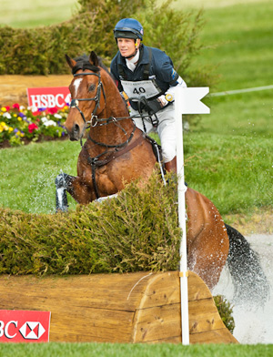 William Fox-Pitt and Parklane Hawk.