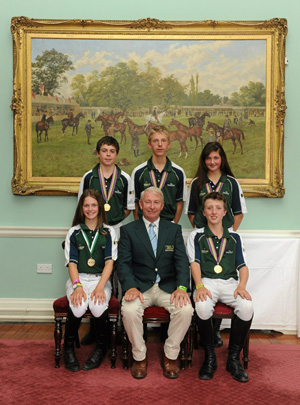 Children On Horse European Championships team from 2011