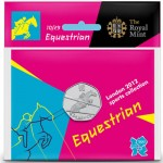 Olympic equestrian coin