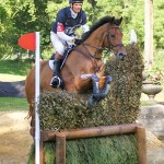 William Fox-Pitt and Neuf Des Coeurs at Burghley in 2011.