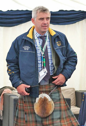 Blair Castle event director Alex Lohore