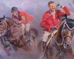 Hickstead honoured in commemorative poster