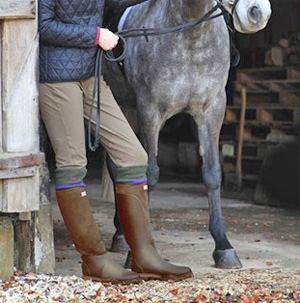 Neoprene equestrian boot developed by Hunter - News - Horsetalk.co.nz