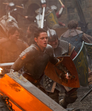 Kristen Stewart in a scene from Snow White and the Huntsman