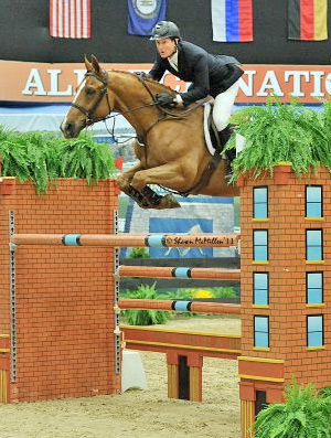 McLain Ward and Rothchild at the Alltech National Horse Show last year.