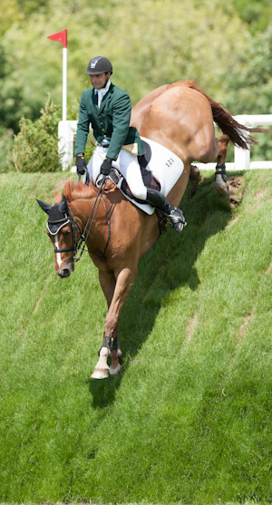 Hickstead Derby winners Paul Beecher and Loughnatousa W B.