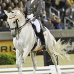 Spanish horses celebrated in new dressage series