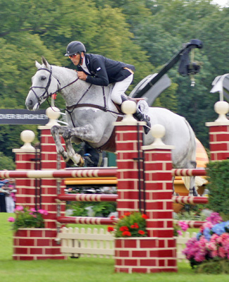 Burghley winners Andrew Nicholson (NZ) and Avebury.