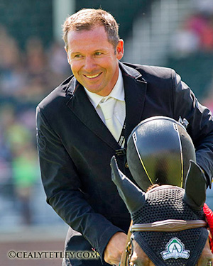 Eric Lamaze is taking a break from competition for the remainder of the year.