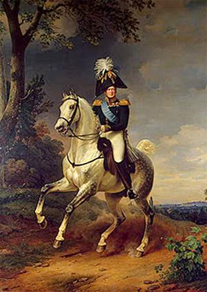 Franz Kruger, Retrato ecuestre de Alejandro I (1837)
