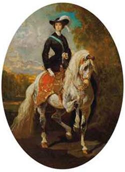 Alfred de Dreux, L'Impératrice Eugenia (nd)