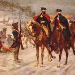 John Ward Dunsmore, Washington y Lafayette en la fragua del valle (1907)