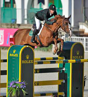 Ireland's Billy Twomey, pictured on his Olympic Tinka's Serenade.