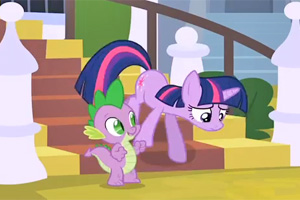 A scene from The Crystal Empire