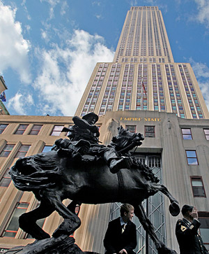 The Horse Soldier statue - De Oppresso Liber - was unveiled on November 11, 2011. © Staff Sgt. Andrew Jacob