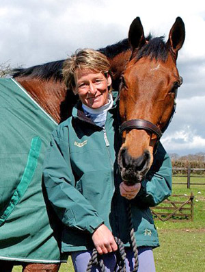 Eventer Mary King routinely treats all her horses for encysted small redworm in the early winter each year.