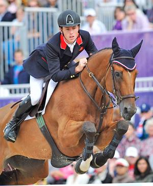 Scott Brash on his Olympic horse, Hello Sanctos.