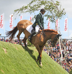 Hickstead's famous Beecher Bank.