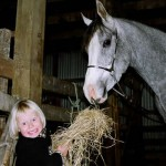 Uh-oh! Are you sure you're feeding your horse the right thing?