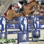 Defending GCT champions Edwina Tops-Alexander on Cevo Itot du Chateau in their winning ride at Doha.