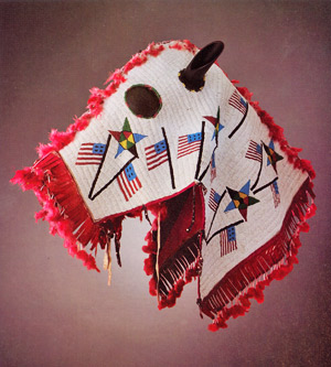 The Lakota horse mask.