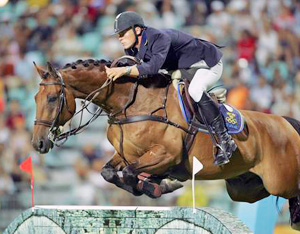 Peder Fredericson at the 2004 Olympic Games in Athens.