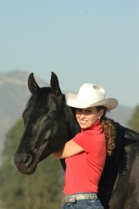 Stacy Westfall and Roxy