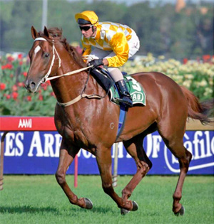 Thorn Park during his racing career.