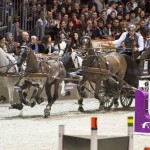 Koos de Ronde won the FEI World Cup Driving title in Bordeaux on Saturday night.