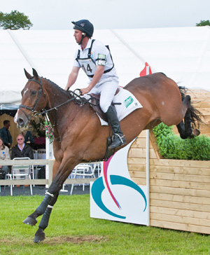 Matthew Wright, pictured on If You Want It II, at an Express Eventing competition at Bolesworth in 2011.