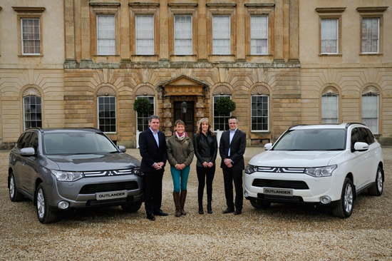 Mitsubishi cars for mary king and charlotte dujardin for Dujardin automobile