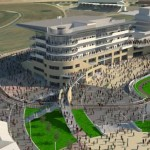 The proposed new Cheltenham upgrade.