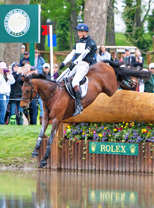 William Fox-Pitt and Seacookie.