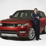 Gerry McGovern, Land Rover Design Director and Chief Creative Officer with the All-New Range Rover Sport.