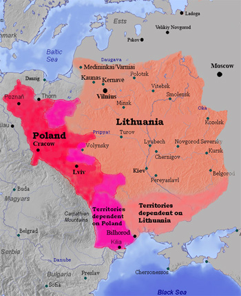 The Grand Duchy of Lithuania.