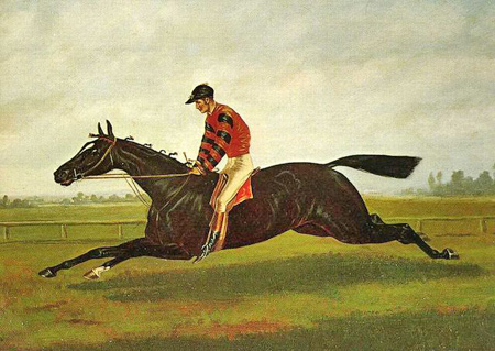 Leaders of the American racing community were praised for bringing legendary Thoroughbreds, such as Iroquois, to England. Unfortunately, according to George Lambton, a few nefarious Americans also introduced the concept of drugging horses to the British track.