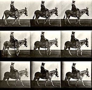 Detail: Even after Eadweard Muybridge's work was produced, many artists still got horse motion wrong. Full image below
