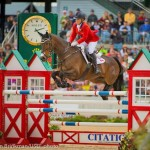 Canadian Olympians Hawley Bennett-Awad and Gin & Juice were one of only four pairs to put in a faultless show jumping performance at the prestigious CCI 4* Rolex Kentucky Three-Day Event.