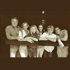The Bellissimo family (from left), Mark, Katherine, Paige, Nicole, Matthew and Michael.