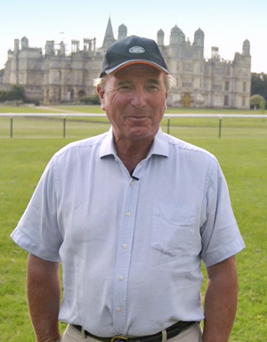 Burghley course designer Captain Mark Phillips
