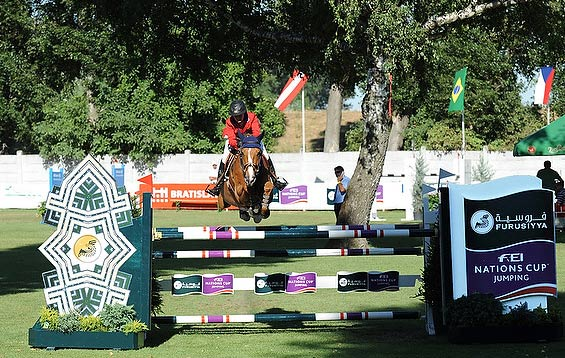 Megan Nusz and Dynamo jumped double-clear on their Nations Cup debut to help secure victory for the USA  at Bratislava on Saturday.