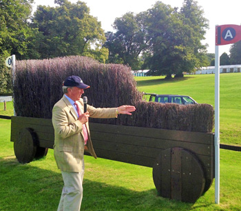 Mark Phillips discusses his latest Burghley course.