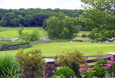 This equestrian property in Lewisboro, New York, is the market for $US12.2 million.