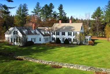 This 63-acre farm in Londonderry, Vermont, has an asking price of  $US2.8m.