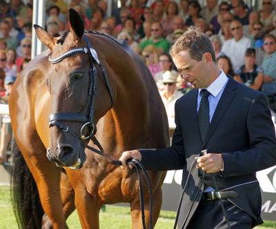 Burghley newcomer Kevin McNab (AUS), who was fifth with Clifton Pinot at Luhmühlen this year.