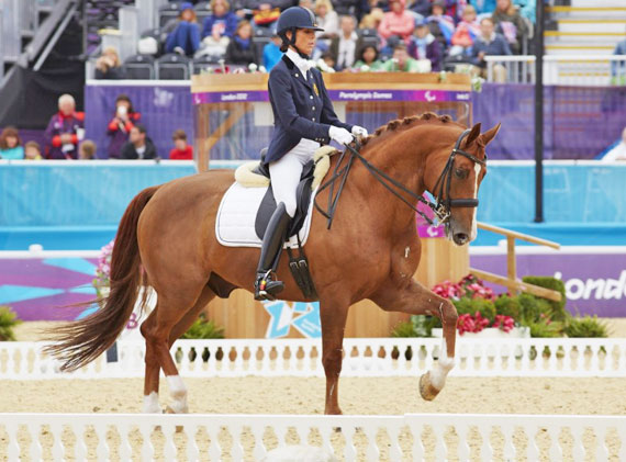 Michèle George and FBW Rainman won two Paralympic gold medals at London 2012.