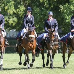 The winning British team at Montelibretti, from left: Nicky Roncoroni, Dani Evans, Emilie Chandler and Paul Sims.