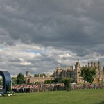 International award for Burghley horse trials coverage